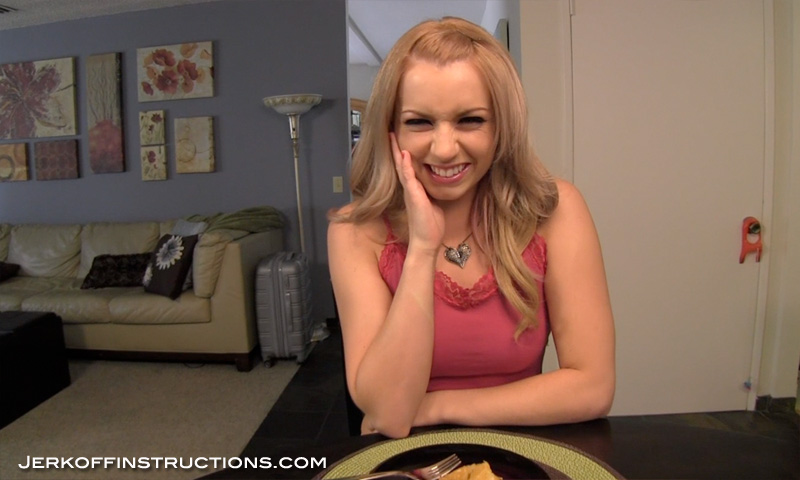 Almost jerk off instructions lexi belle opinion